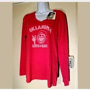 Oklahoma Sooners tee shirt